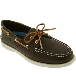 Women's Sperry A/O 2 Eye Brown Leather